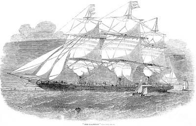 Clipper Ship, 1853 Art Print