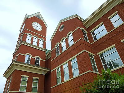 Photograph - Clock Tower by Renee Trenholm