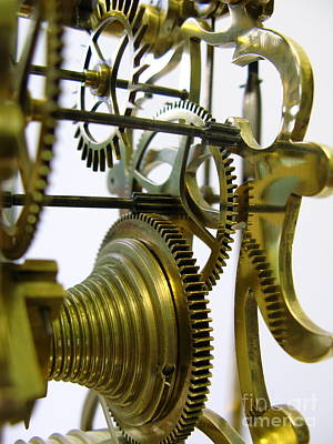 Clockwork Art Print by John Chatterley