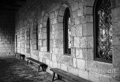 Photograph - Cloisters by Maria Scarfone