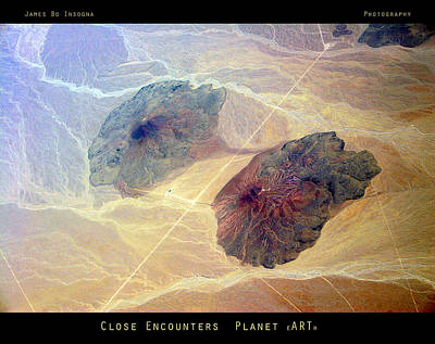 Photograph - Close Encounters - Planet Earth by James BO  Insogna