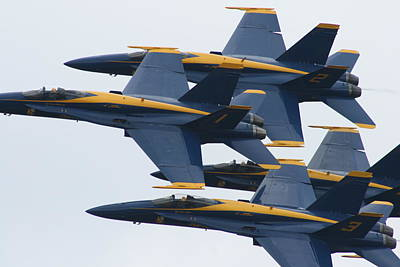 Photograph - Close Formation by Neal Eslinger