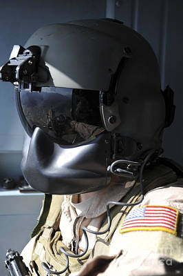 Obscured Face Photograph - Close-up Of A U.s. Air Force Flight by Stocktrek Images
