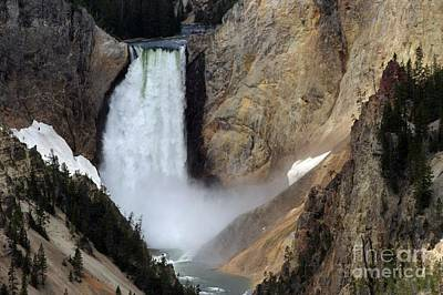 Photograph - Close Up Of Lower Falls by Living Color Photography Lorraine Lynch