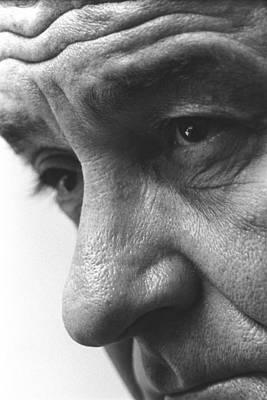 Lyndon Photograph - Close Up Of President Lyndon Johnson by Everett