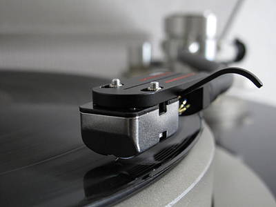 Turntable Photograph - Close Up Of Record Player by Hiroshi Uzu