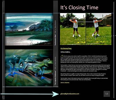 Digital Art - Closing Time P54 by Glenn Bautista