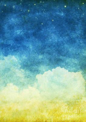 Cloud And Sky Art Print