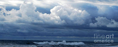 Art Print featuring the photograph Cloud Bank by Linda Mesibov