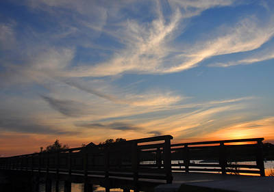 Photograph - Cloud Bridge by Daniel Ness