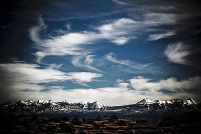 Photograph - Cloud Drama 1 by Marilyn Hunt