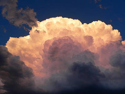 Photograph - Cloud Exploding by Eric Tressler