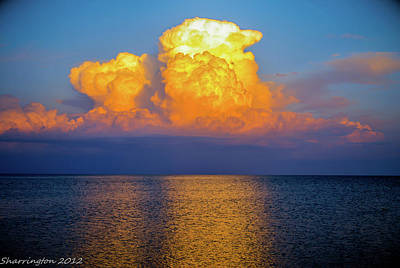 Photograph - Cloud Explosion by Shannon Harrington