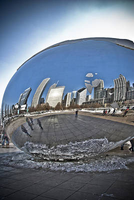 Photograph - Cloud Gate by Eric Miller