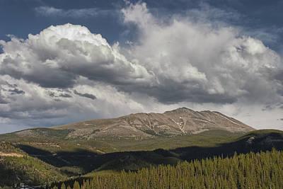 Arapaho Photograph - Cloud Over Breckenridge Colorado by Randall Nyhof
