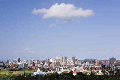 Berea Wall Art - Photograph - Cloud Over Durban Seen From The Berea by Jeremy Woodhouse