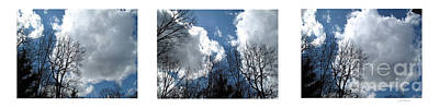 Photograph - Cloud Panorama by Joan  Minchak