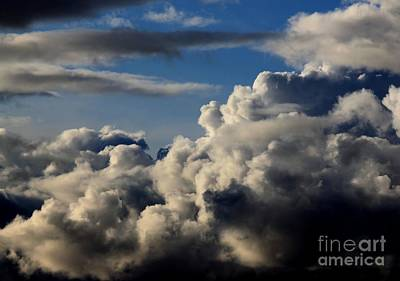 Photograph - Cloud Patterns 1 by Erica Hanel