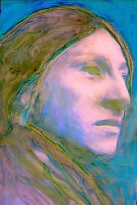 Cloud People Art Print by FeatherStone Studio Julie A Miller
