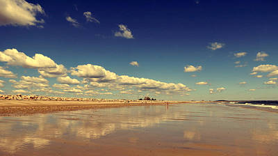 Photograph - Cloud Reflections by Janice Drew