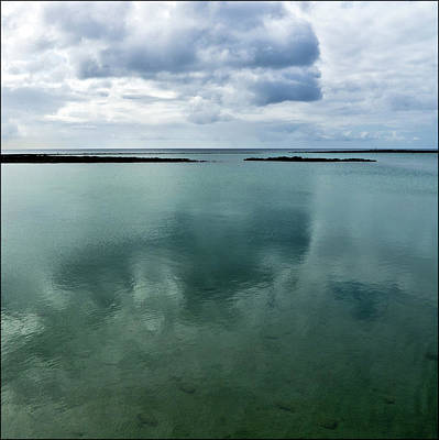 Atlantic Islands Photograph - Cloud Reflections by Kimberly Jansen Photography