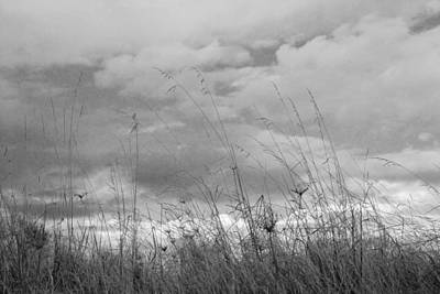 Print featuring the photograph Cloud Watching by Kathleen Grace