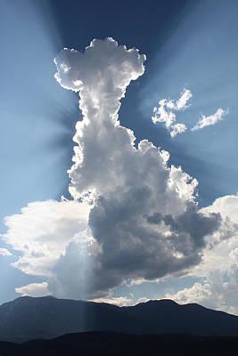 Photograph - Cloudburst by Cathie Douglas