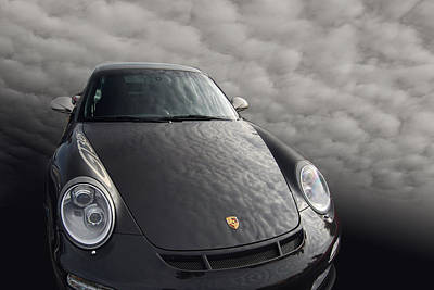 Gt3 Rs Photograph - Clouded Judgement by Bill Dutting