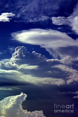 Photograph - Clouds - 02 by Paul W Faust -  Impressions of Light