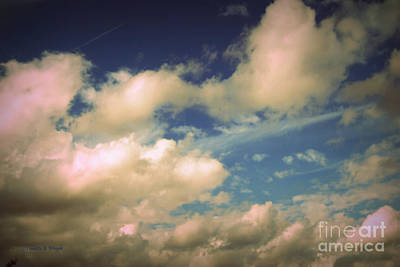 Photograph - Clouds-1 by Paulette B Wright