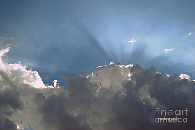 Photograph - Clouds-12 by Paulette B Wright