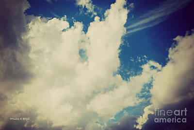 Photograph - Clouds-7 by Paulette B Wright