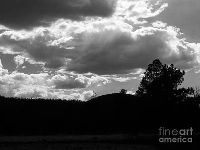 Photograph - Clouds At Dusk by Pamela Walrath