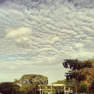 Wallpaper Wall Art - Photograph - #clouds #cloudporn #instagrammer by Sundar Kanchibhotla