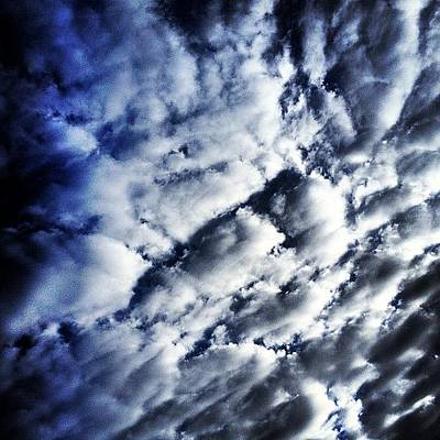 Angle Photograph - Clouds by Darren Frankish