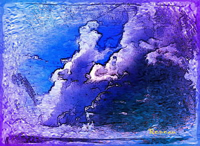 Photograph - Clouds In Purple by Sadie Reneau