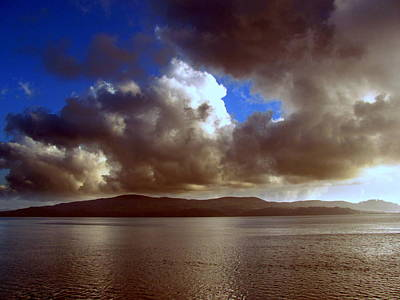 Art Print featuring the photograph Clouds by Irina Hays