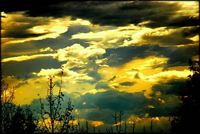 Photograph - Clouds Of Many Colors by Kathy Sampson