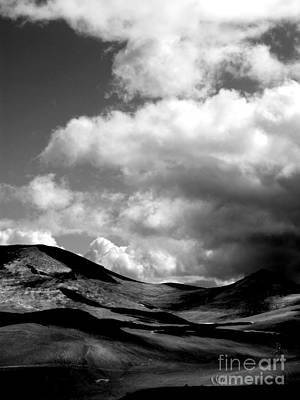 Photograph - Clouds On A Glacier by Michael Canning