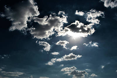 Clouds On A Sunny Day Art Print by Sumit Mehndiratta