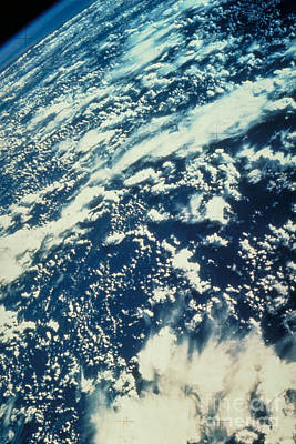Aeriel View Photograph - Clouds Over Amazon by Nasa