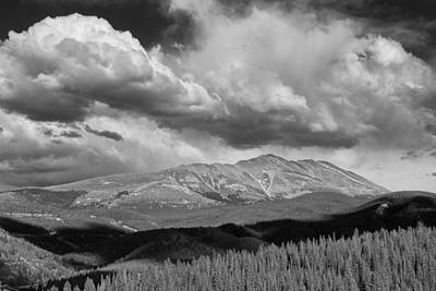 Arapaho Photograph - Clouds Over Breckenridge Colorado by Randall Nyhof