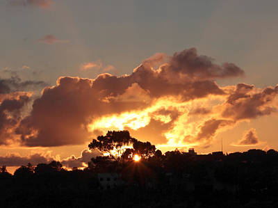 Photograph - Clouds Over Sorrento Valley #1 by Jeremy McKay