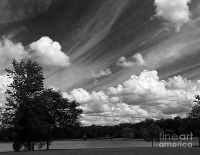 Clouds Over The Lake 1 Art Print