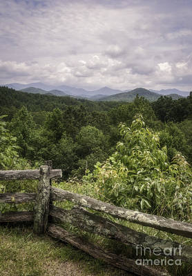 Photograph - Clouds Over The Mountains by David Waldrop