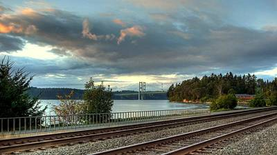 Photograph - Clouds Over The Narrows by Chris Anderson