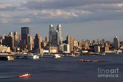 Photograph - Clouds Rolling In On New York City by Living Color Photography Lorraine Lynch