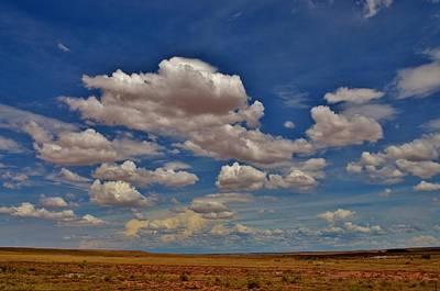 Clouds Art Print by Sara Edens