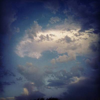 #clouds #sky #nature #andrography Art Print by Kel Hill