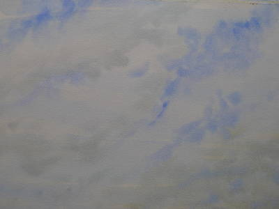 Painting - Clouds Vii - Soar by Joel Deutsch